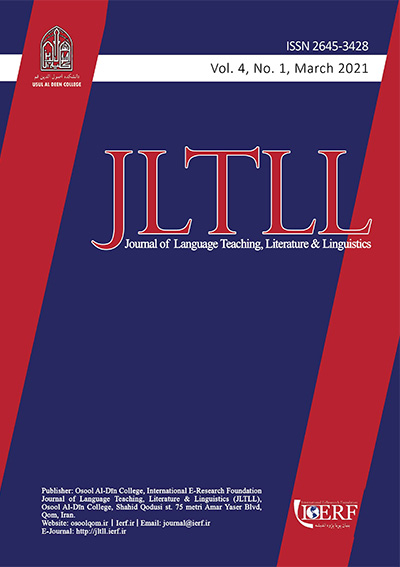 Journal of Language Teaching, Literature & Linguistics (JLTLL)